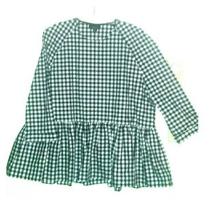 Victoria Beckham for Target XXL gingham top